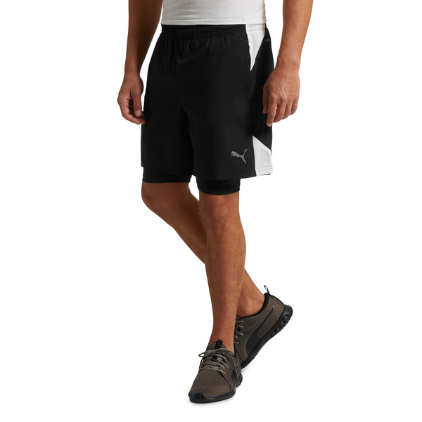 A.C.E. Woven 2in1 Short, Puma Black, large
