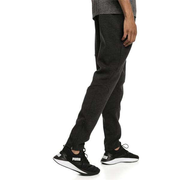 BND Tech Men's Trackster Pants, Puma Black Heather, large