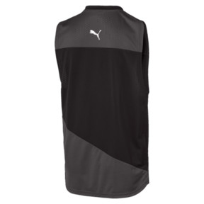 Thumbnail 2 of A.C.E. Sleeveless Men's Training Tee, Asphalt-Puma Black, medium