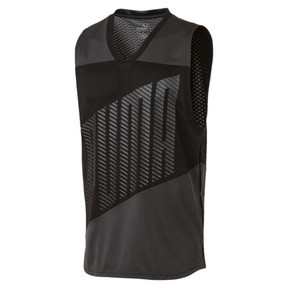 Thumbnail 1 of A.C.E. Sleeveless Men's Training Tee, Asphalt-Puma Black, medium