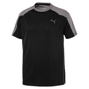 Thumbnail 1 of A.C.E. Block Men's Tee, Puma Black-Charcoal Gray, medium