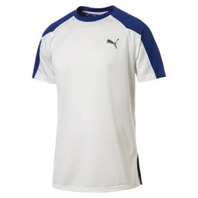 Thumbnail 1 of A.C.E. Block Men's Tee, Puma White-Surf The Web, medium