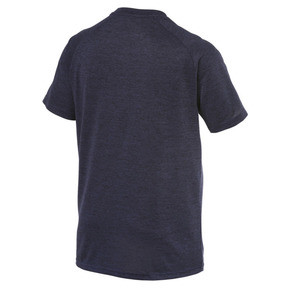Thumbnail 6 of The CAT Heather Men's Training Tee, Peacoat Heather, medium