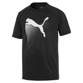 Thumbnail 4 of The Cat Men's Heather Tee, Puma Black Heather, medium