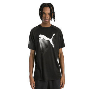 Thumbnail 1 of The Cat Men's Heather Tee, Puma Black Heather, medium