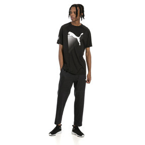 Thumbnail 3 of The Cat Men's Heather Tee, Puma Black Heather, medium