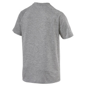 Thumbnail 2 of The Cat Men's Heather Tee, Charcoal Gray Heather, medium
