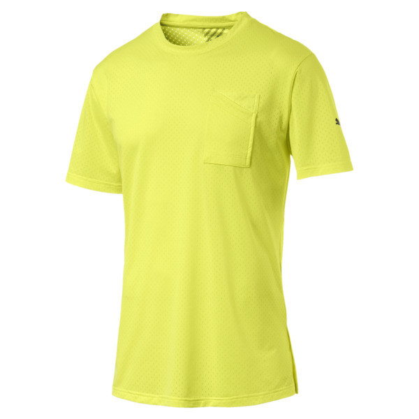 A.C.E. Men's Training Tee, Fizzy Yellow, large