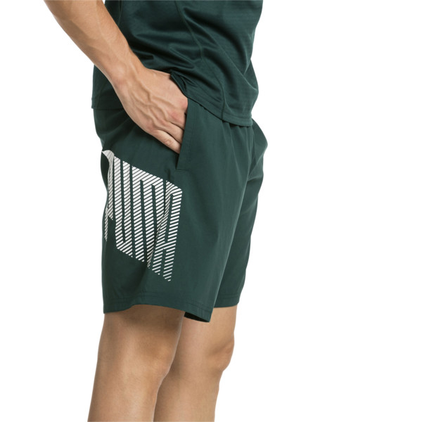 "A.C.E. Woven 9"" Men's Shorts, Ponderosa Pine, large"