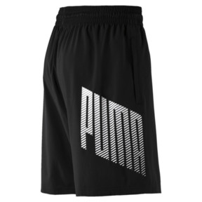 "Thumbnail 6 of A.C.E. Woven 9"" Men's Shorts, Puma Black, medium"
