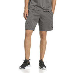Thumbnail 1 of A.C.E. Men's Woven Shorts, Charcoal Gray, medium
