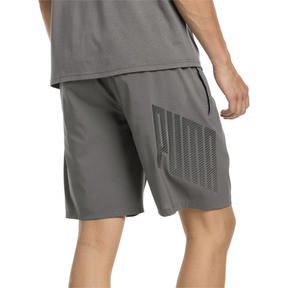 Thumbnail 2 of A.C.E. Men's Woven Shorts, Charcoal Gray, medium