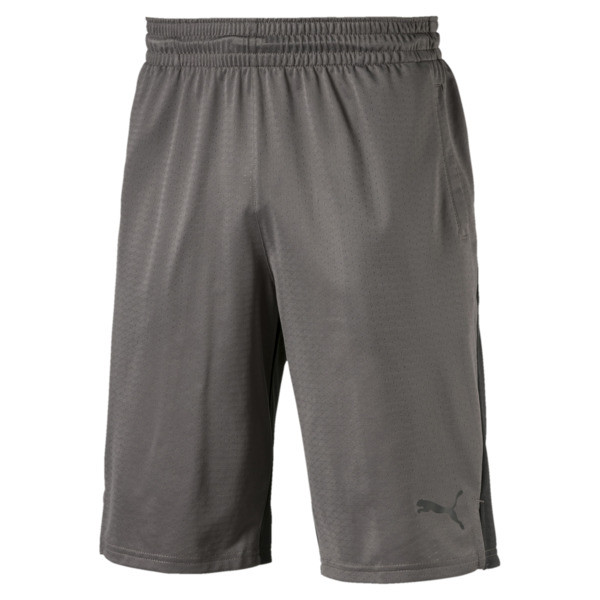"A.C.E. Knit 11"" Short, Charcoal Gray-Asphalt, large"