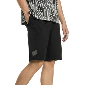 Thumbnail 1 of A.C.E. Herren Gestrickte Shorts, Puma Black, medium