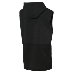 Thumbnail 5 of BND Sleeveless Men's Training Hoodie, Puma Black Heather, medium