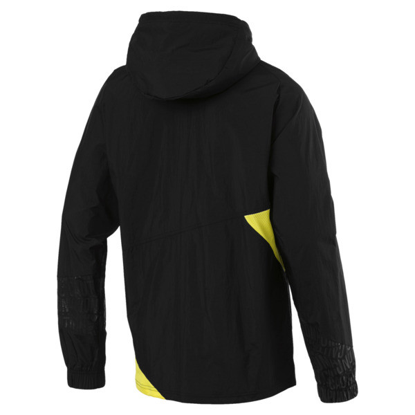 CAUTION Lightweight Men's Jacket, Puma Black, large