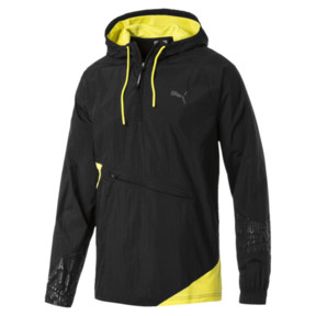 Thumbnail 2 of CAUTION Lightweight Men's Jacket, Puma Black, medium