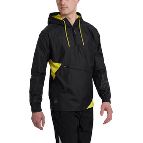 Thumbnail 1 of CAUTION Lightweight Men's Jacket, Puma Black, medium