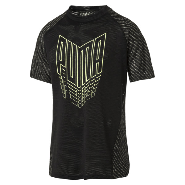 VENT Men's Training Tee, Puma Black, large
