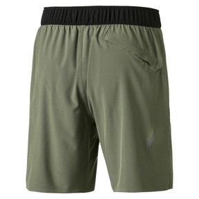 Thumbnail 5 of PACE Breeze Men's Shorts, Olivine-Puma Black, medium