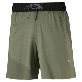 Thumbnail 4 of PACE Breeze Men's Running Shorts, Olivine-Puma Black, medium