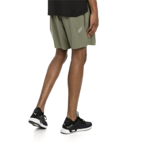 Thumbnail 2 of PACE Breeze Men's Running Shorts, Olivine-Puma Black, medium