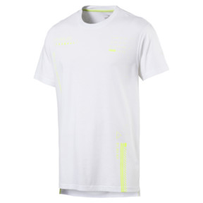 Thumbnail 4 of Energy Graphic Short Sleeve Men's Tee, Puma White, medium
