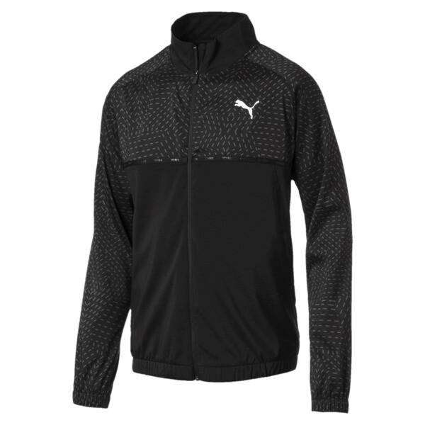 Energy Men's Woven Jacket, Puma Black, large