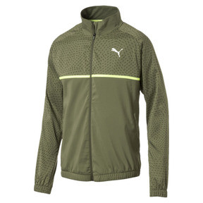 Thumbnail 4 of Energy Woven Men's Sweat Jacket, Olivine, medium