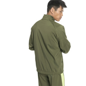 Thumbnail 2 of Energy Woven Men's Sweat Jacket, Olivine, medium