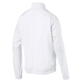 Thumbnail 2 of Energy Woven Men's Sweat Jacket, Puma White, medium
