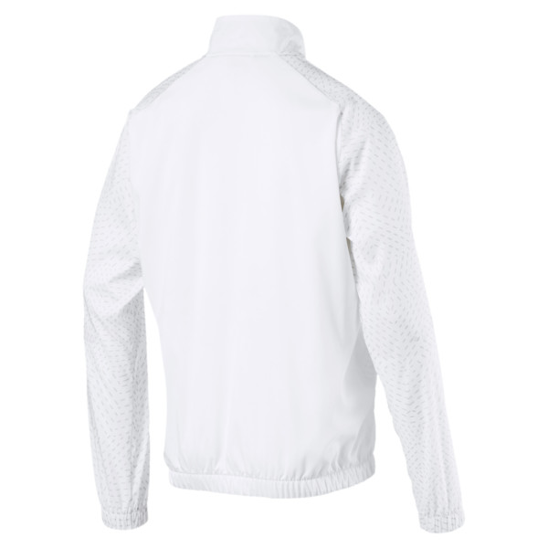 Energy Woven Men's Sweat Jacket, Puma White, large