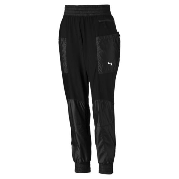 Pantalones de punto de training de mujer Cosmic Trailblazer, Puma Black, grande