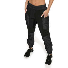 Imagen en miniatura 1 de Pantalones de punto de training de mujer Cosmic Trailblazer, Puma Black, mediana