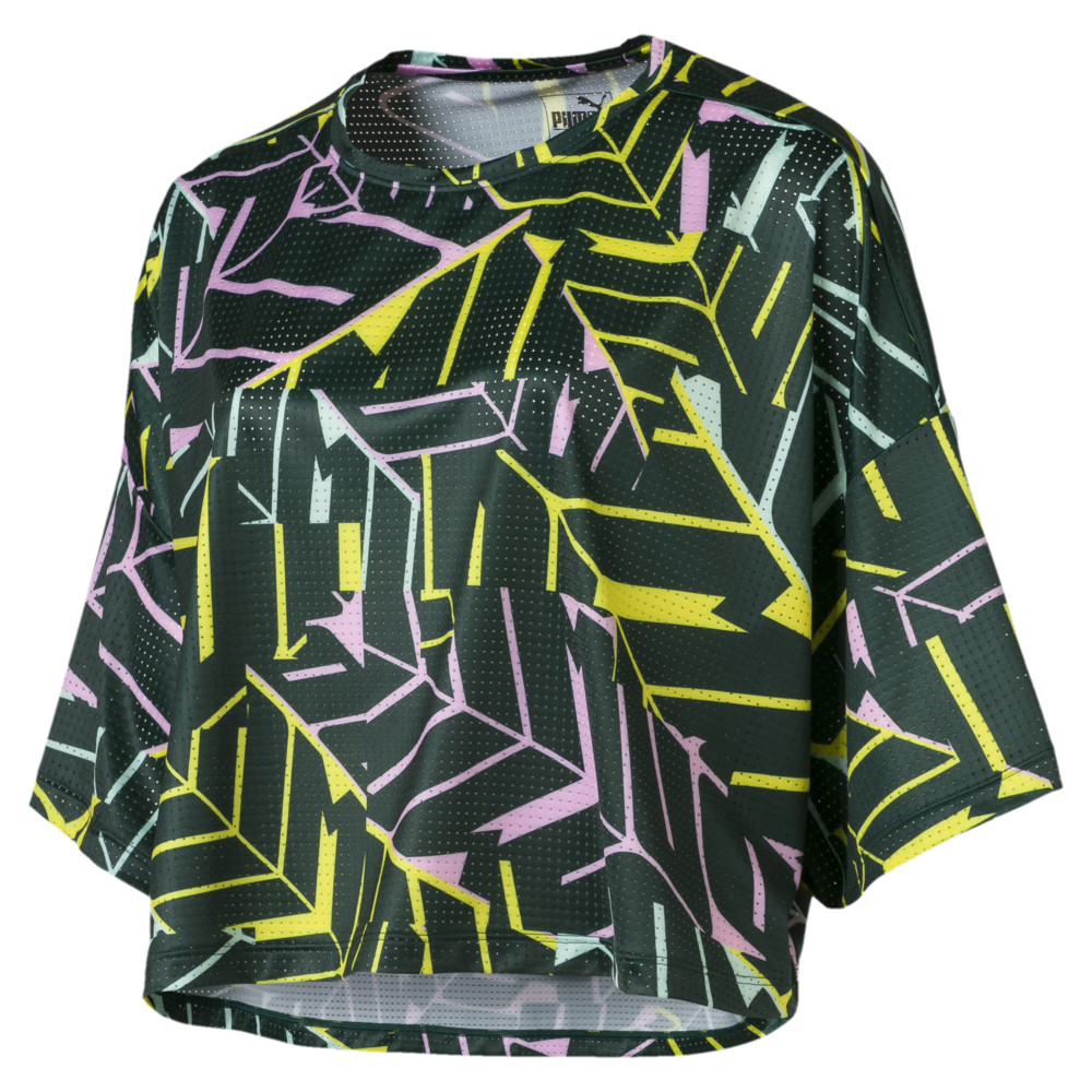 Image Puma Cosmic Cropped Women's Training Tee #1