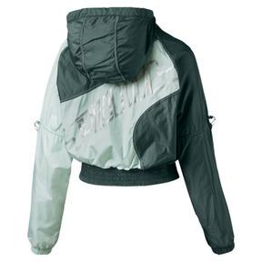 Thumbnail 5 of Cosmic Trailblazer Women's Jacket, Ponderosa Pine-Fair Aqua, medium