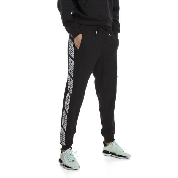 Feel It Women's Sweatpants, Puma Black, large