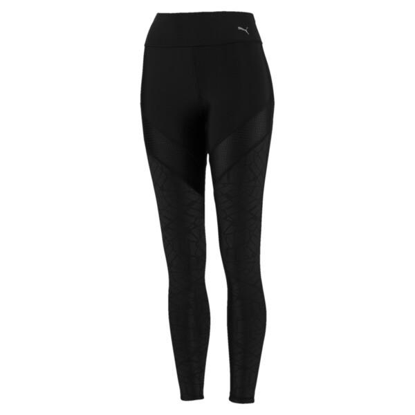 Pantalon de sport Show Off Training pour femme, Puma Black-AOP, large