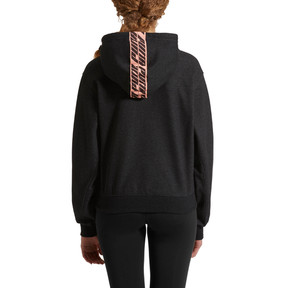 Thumbnail 2 of Feel It Cover Up Women's Half Zip Hoodie, 01, medium