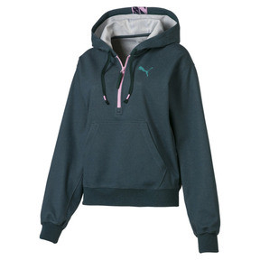 Thumbnail 4 of Feel It Damen Hoodie, Ponderosa Pine Heather, medium