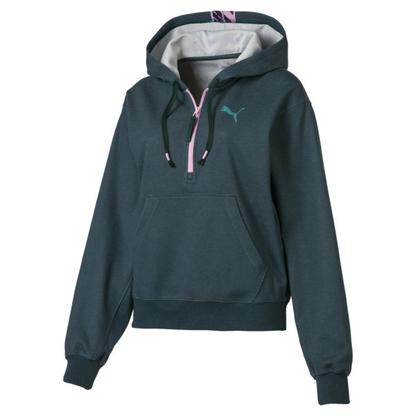 Feel It Women's Pullover, Ponderosa Pine Heather, large