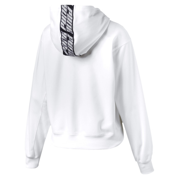 Feel It Damen Hoodie, Puma White, large