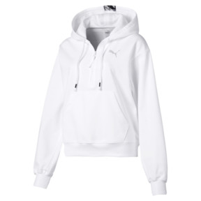 Thumbnail 4 of Feel It Damen Hoodie, Puma White, medium