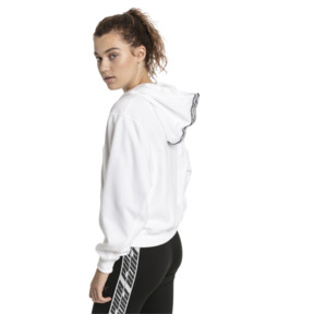 Thumbnail 2 of Feel It Damen Hoodie, Puma White, medium