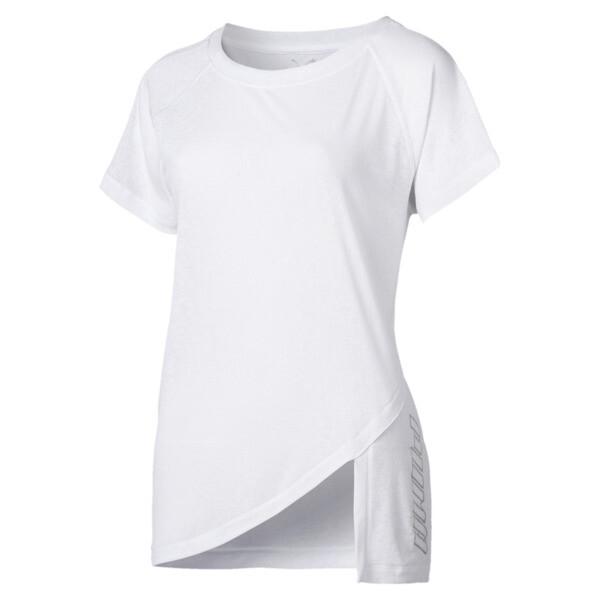 SpotLite Women's Performance Tee, Puma White, large