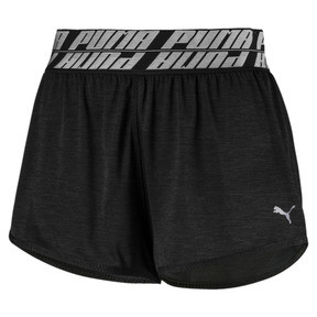 Thumbnail 4 of Own It Damen Training Shorts, Puma Black Heather, medium