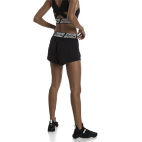 Thumbnail 2 of Own It Damen Training Shorts, Puma Black Heather, medium
