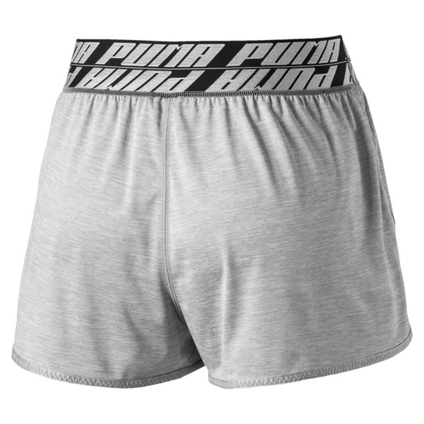 "Own It 3"" Short, Light Gray Heather, large"