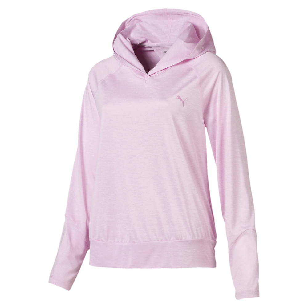 Image Puma Own It Long Sleeve Hooded Women's Coverup #1