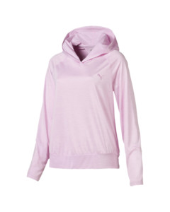 Image Puma Own It Long Sleeve Hooded Women's Coverup